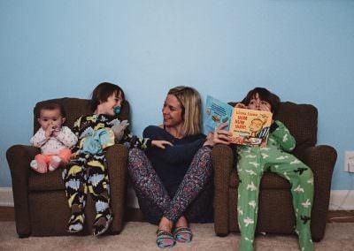 Family Documentary Photo Session by Rochester NY Family Photographer