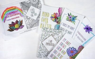 Birth Affirmation Cards: Free Download